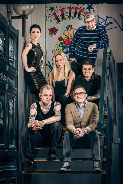 Kunde : TV3 / Tattoo Salonen